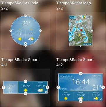 tiempo&radar-widget